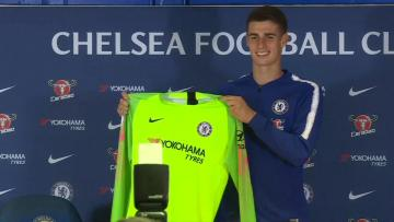 Watch: Chelsea sign Spanish goalkeeper Kepa for world record fee | Video: AFP