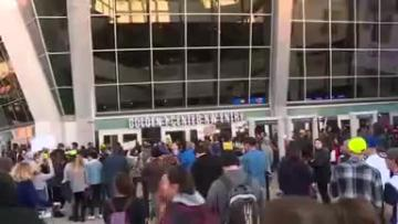 Hundreds protest in Sacramento over video of police shooting