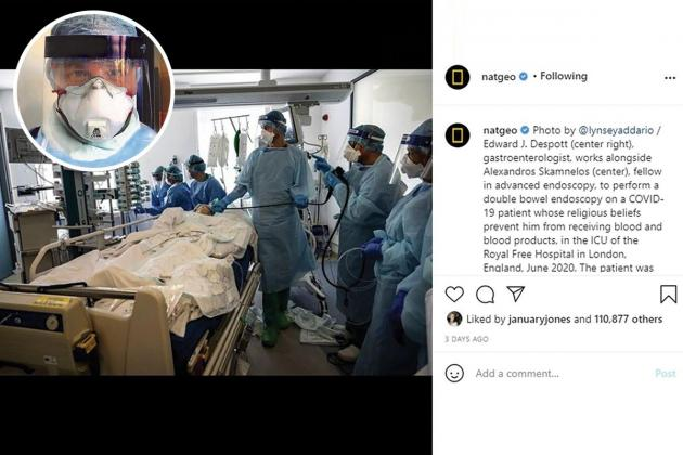 Maltese consultant's work to save COVID patient features on National Geographic
