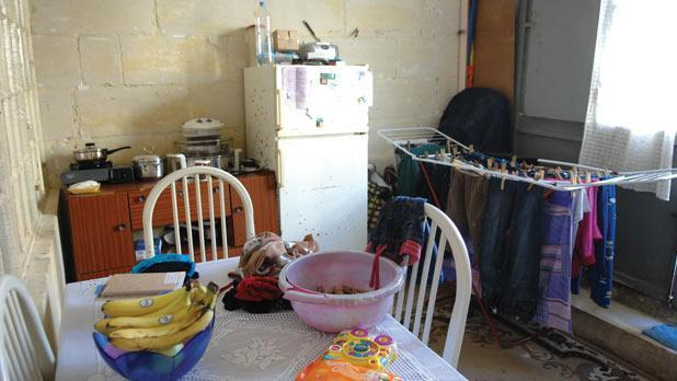 Poverty continues to haunt parts of Maltese society.