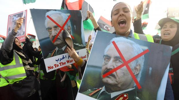 Trump speaks with Libya warlord Haftar, in sign of US support
