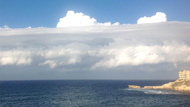 Cloud formation. Photo: Mario DeBono
