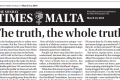 Editorial - The truth, the whole truth