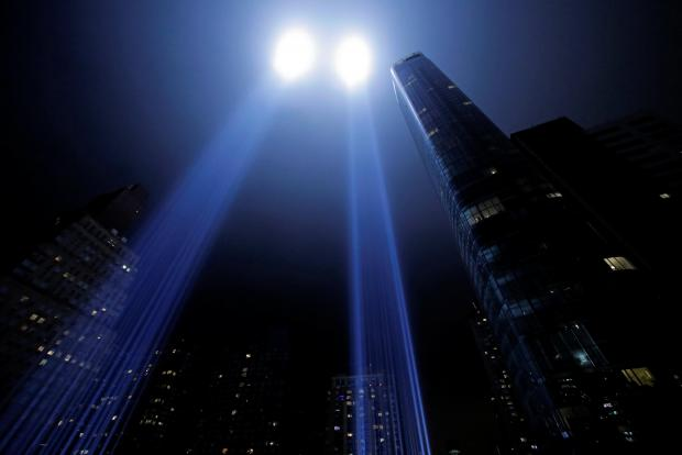 The Tribute in Light.