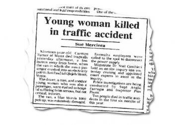How the Times of Malta reported the 1993 tragedy.