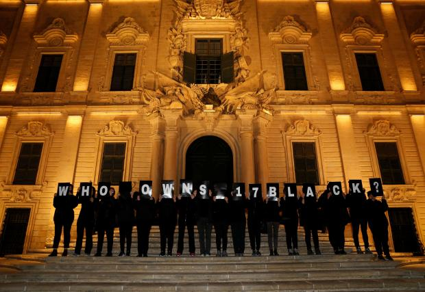 Activists in May gathered outside Castille, demanding to know who owns 17 Black