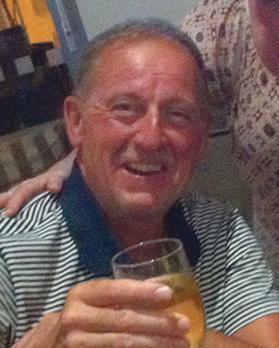 This photo was taken just weeks before Tom Stewart went missing. Photo: Phyllis Stewart