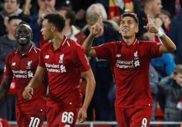 Watch: Late Firmino strike gives Liverpool thrilling win