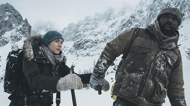 Kate Winslet and Idris Elba embark on a perilous journey across harsh winterland in The Mountain Between Us.