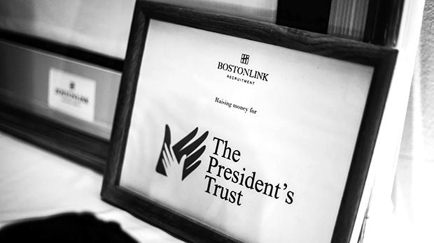 A central part of the event organised by Boston Link Recruitment was a raffle to raise funds for The President's Trust.
