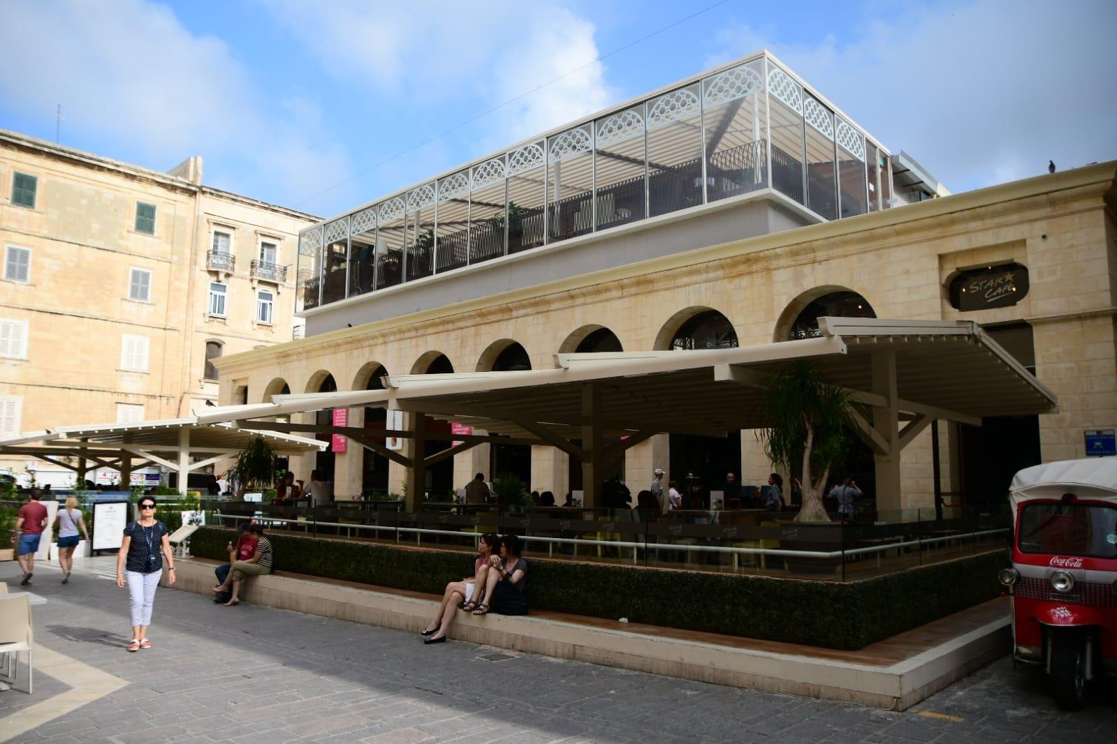 'Like a cheap shed': canopies overshadow Valletta's iconic Is-Suq