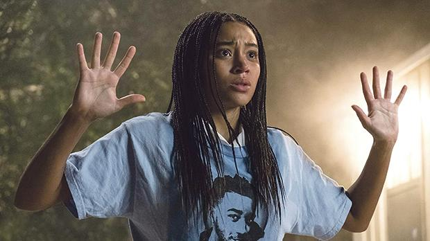 Amandla Stenberg stands up for justice in The Hate U Give.
