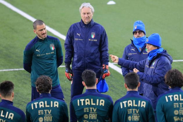Italy players given first COVID-19 vaccine dose ahead of Euro 2020