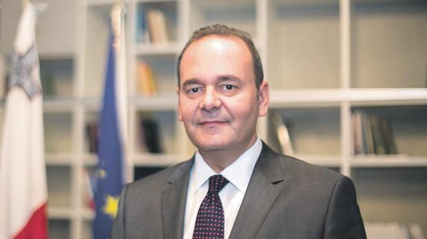 Economy Minister Chris Cardona.