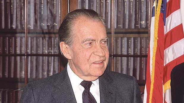 Richard Nixon. Photo: Mark Reinstein/Shutterstock.com