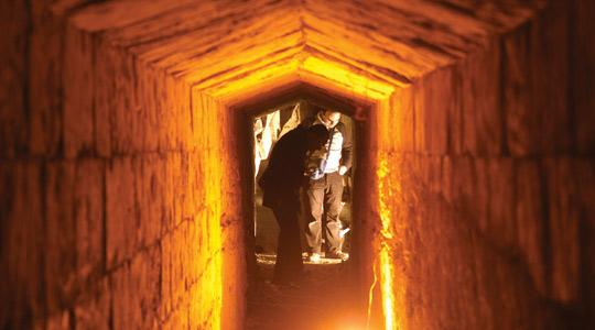 Archaeological studies in St George Square, Valletta have reveiled an undocumanted network of tunnels which possibly connect to the Palace. Photo: Chris Sant Fournier