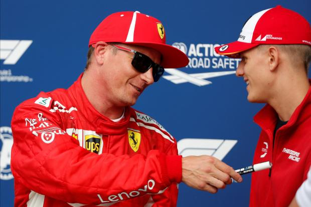 Kimi Raikkonen set a new track record at the Italian GP.