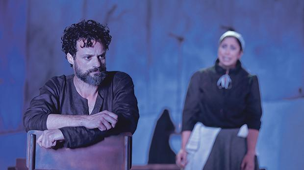 Kenneth Spiteri takes on the lead role of John Proctor in The Crucible.