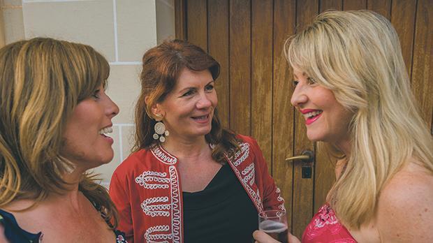 Theresa Bartolo Parnis, Jackie Scudumore Urpani and Moira Delia.