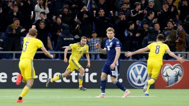 6f6c36ecd1d Watch: Scotland slump to humiliating 3-0 defeat in Kazakhstan