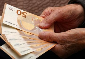'Go back home, but pay my pension first'