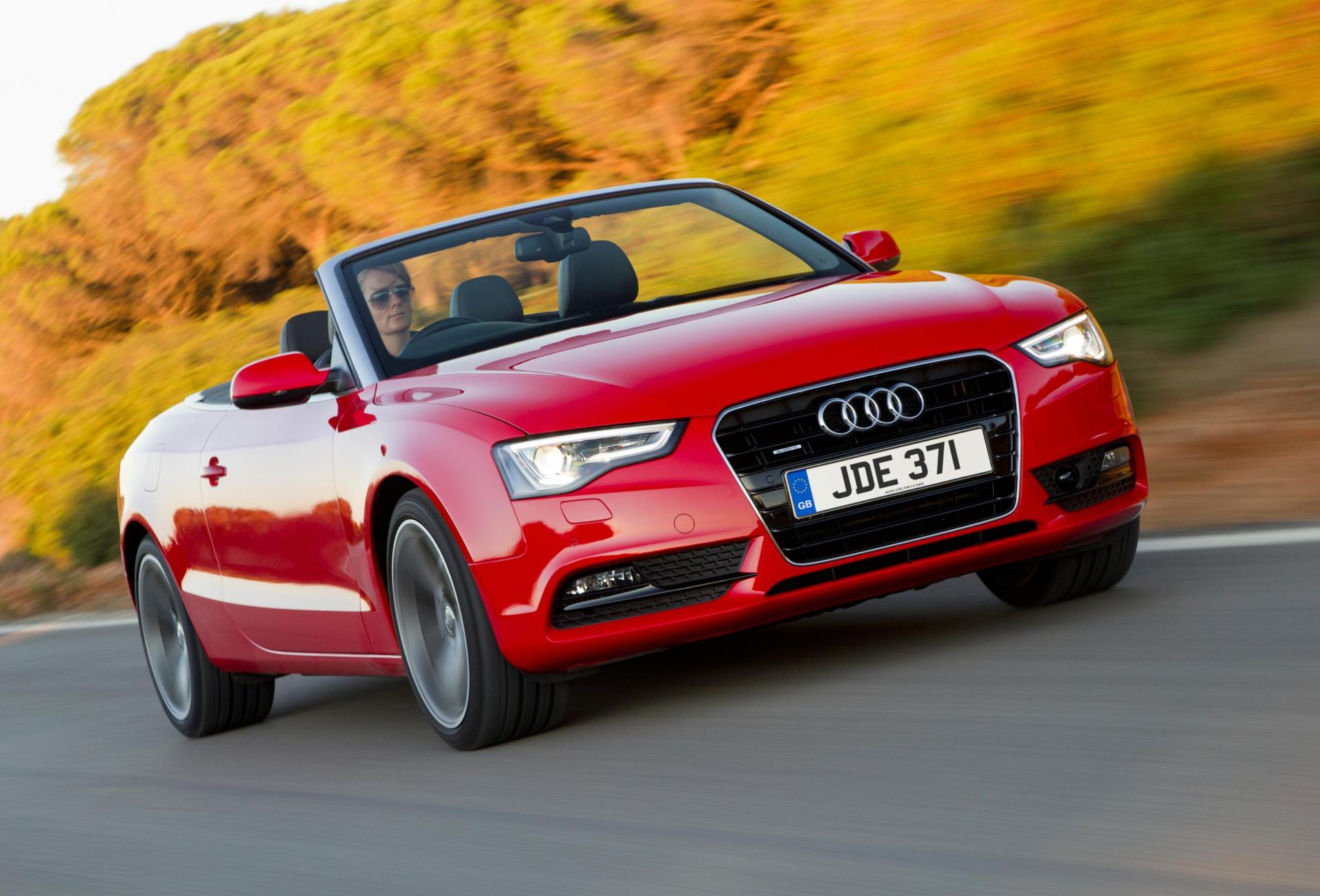 The A5 Convertible is a great daily drop-top option.