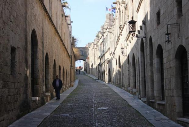 Ippoton - Street of the Knights, Rhodes Old Town.