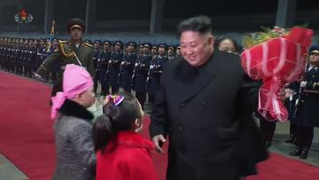 N. Korea media airs feature on Trump-Kim summit, makes no mention of walkout | Video shows Kim's return to North Korea.