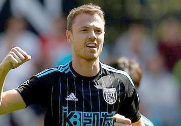 Jonny Evans... not leaving West Brom.