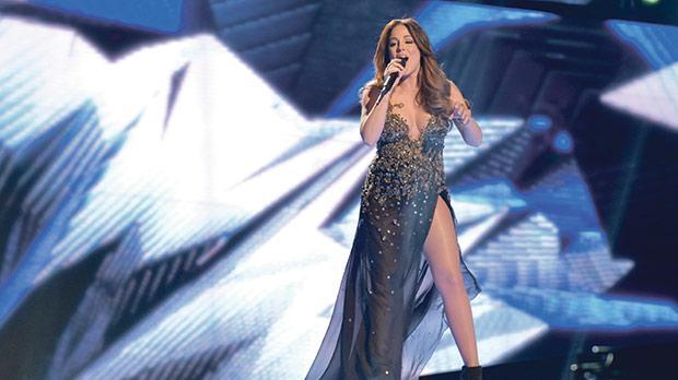 Ira Losco, seen here performing this year's Maltese Eurovision entry.