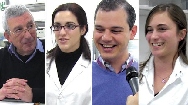 Alex Felice, professor of physiology and biochemistry, Alexandra Fiott, research support officer, Dr Joseph Borg, resident academic, and Jeanesse Scerri, medical laboratory assistant.