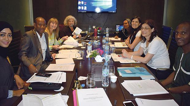 Dr Suzanne Piscopo (third from left) at the FAO expert consultation meeting in the UAE.