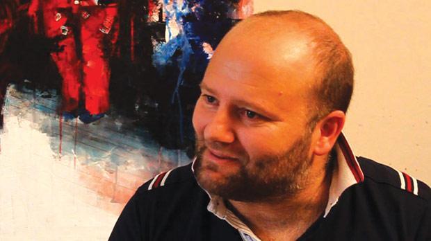 Rupert Cefai, painter.