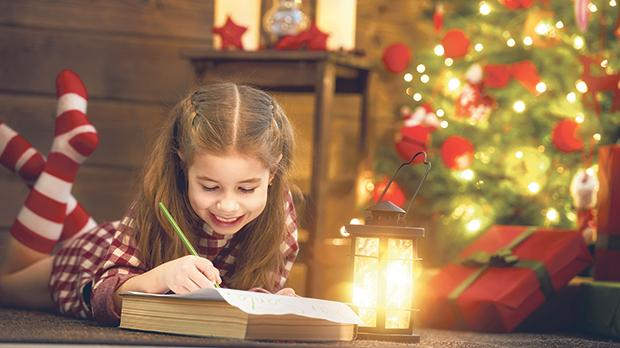 Young children love to write out their wish list to Santa at this time of year.