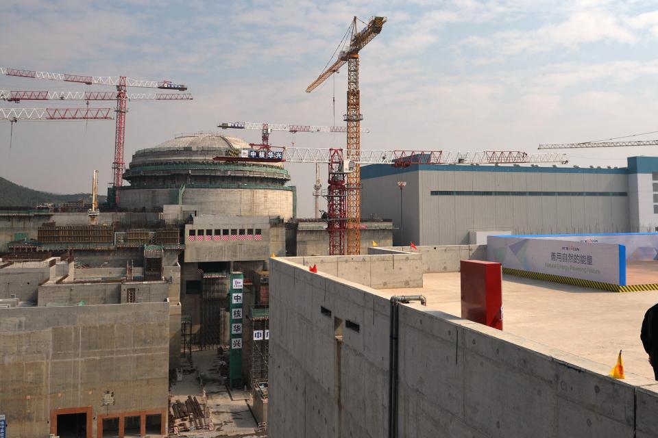 Planta de energía nuclear de Taishan.