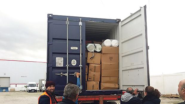 This Christmas, a container filled with donations went to struggling Albanian families whose houses had been destroyed by heavy flooding.