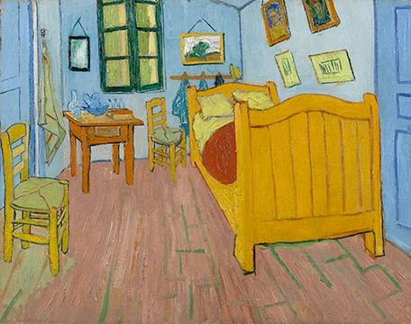 Van Gogh S Bedroom In Chicago On Airbnb