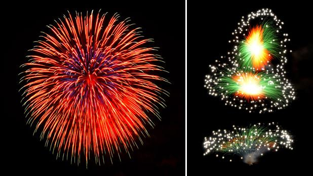 Fireworks at the feast of the Transfiguration of Our Lord, Lija. Photos: Victor B. Caruana