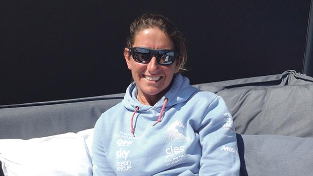 Round-the-world sailor and campaigner Dee Caffari