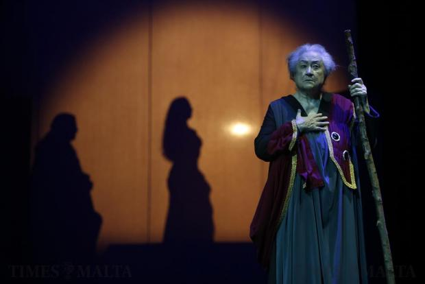 Renowned veteran actress Karmen Azzopardi returns to the stage after an absence of many years to play the title role in the Greek tragedy 'Hecuba' at the Manoel Theatre in Valletta on November 24.