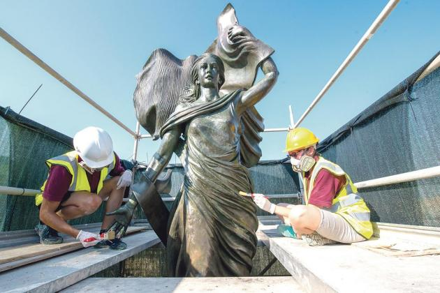 Facelift for Independence monument in Floriana