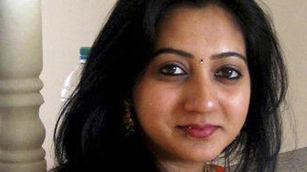 Savita Halappanavar is seen in an undated family photo in Galway, Ireland.