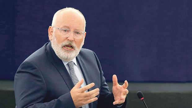 European Commission vice president Frans Timmermans. Photo: Reuters