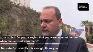 Watch: Chris Cardona says he was never at the bar at same time as alleged killer