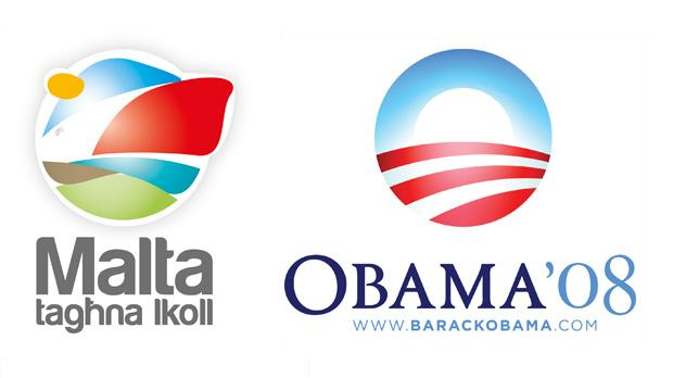 The PL's logo has also been compared to President Obama's.