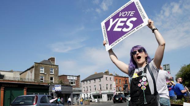 Abortion set to be introduced in Ireland after landslide vote - polls