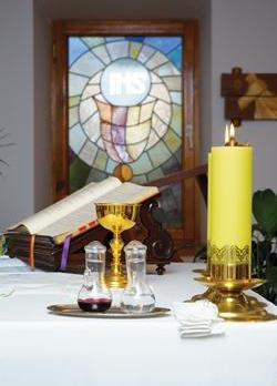 Pre-Vatican Council II, celebrating Mass with only one lit candle was a mortal sin.