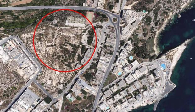 The Mistra area has been earmarked for development for several years. Image: Google