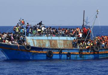 6,500 migrants rescued off Libya in one day