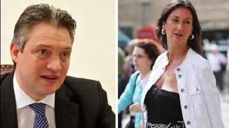 Minister Konrad Mizzi sued blogger Daphne Caruana Galizia, who alleged he was having an extramarital affair.